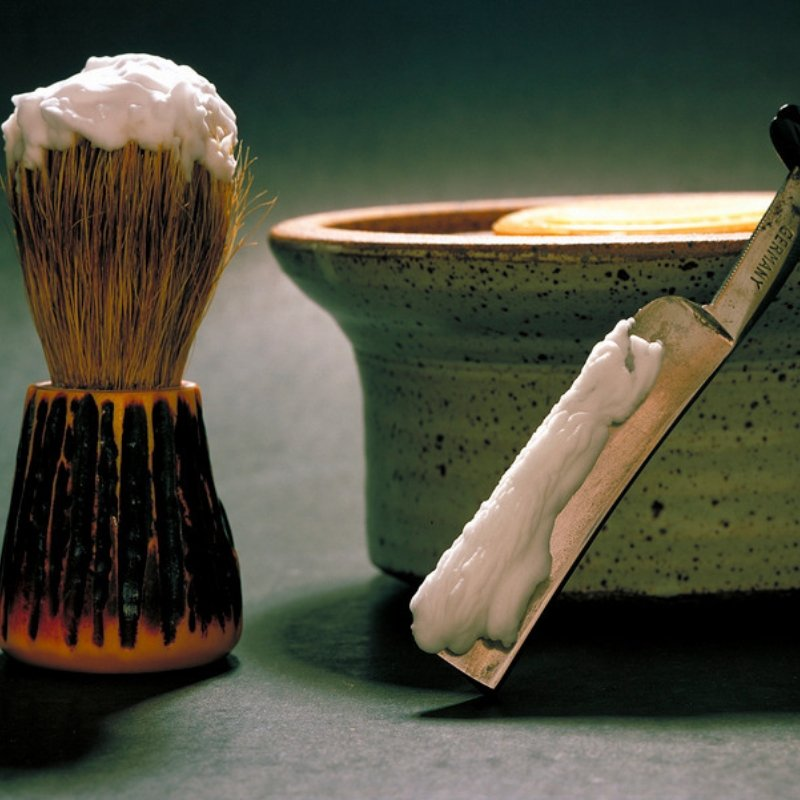 Mug and Brush