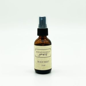 2 oz Amber Glass Body Mist