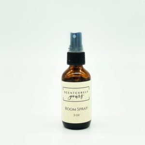 2 oz Amber Glass Room Spray