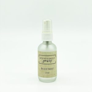 2 oz Frosted Glass Body Mist