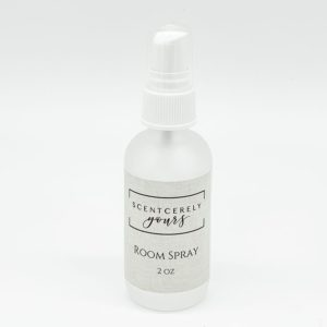 2 oz Frosted Glass Room Spray