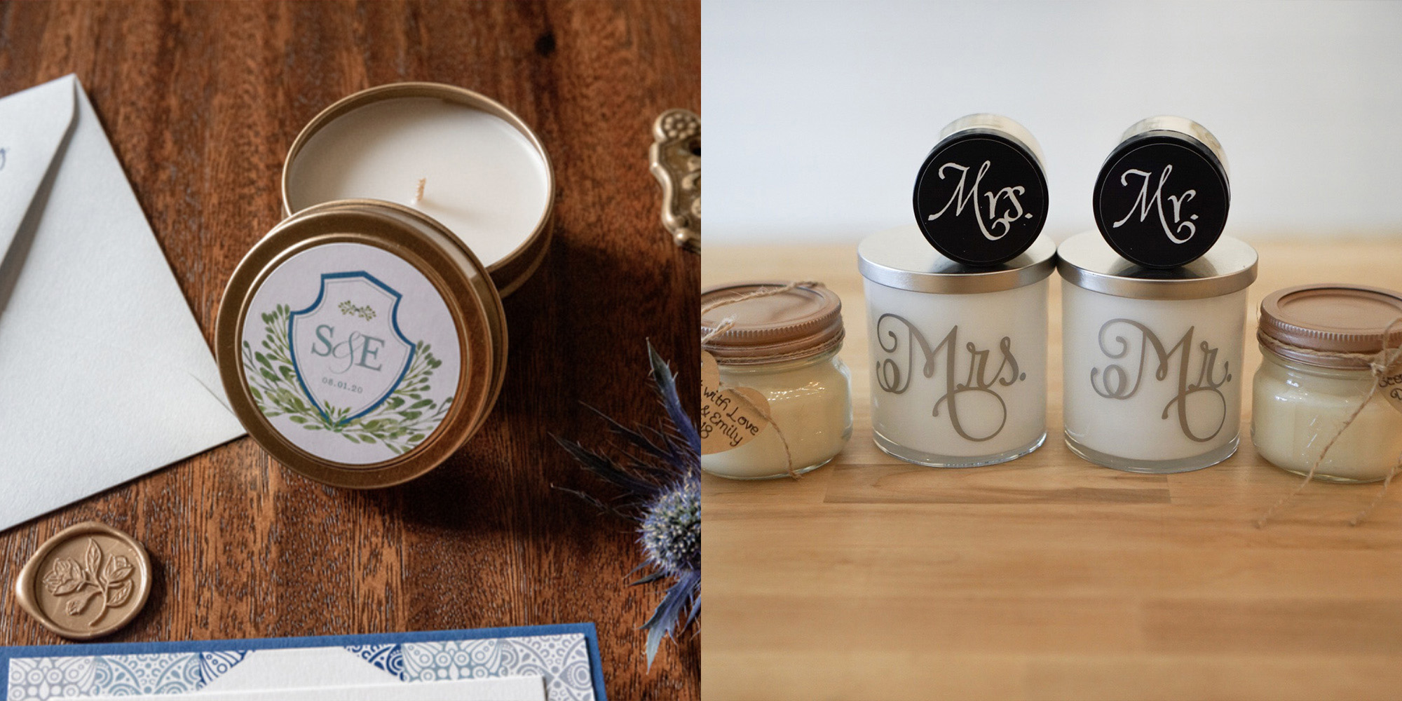 Scencerely Yours Wedding Favors