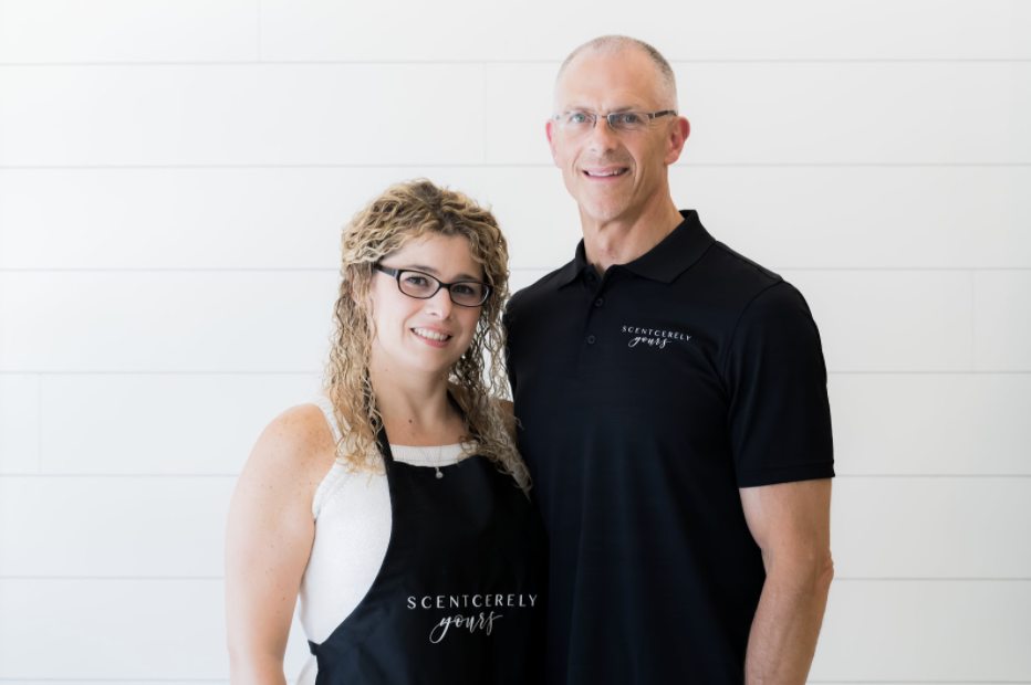 Rob and Susi Brucato at Scentcerely Yours